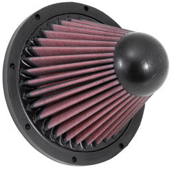 K&N's RC-5052 replacement air filter for the Apollo Closed Intake System.