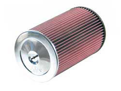 K&N's RC-5165 Universal Chrome Air Filter