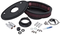 Custom Air Cleaner Assembly for Harley Davidson Motorcycles