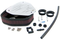 Custom Air Cleaner Assembly for Kawasaki VN2000 Vulcan, Clasic and Limited