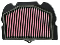 Air Filter for the 2008, 2009, 2010, 2011 and 2012 Suzuki GSX1300R Hayabusa