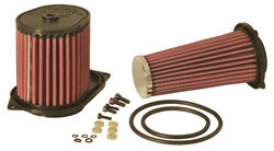 K&N provides to air filters in one kit SU-7086 for the Suzuki Boulevard