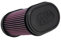 K&N's YA-7008 replacement air filter for the 2008 Yamaha Rhino.